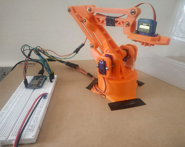 3D printing your Robotic ARM