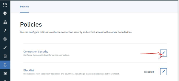Checking Policies in Connection Security
