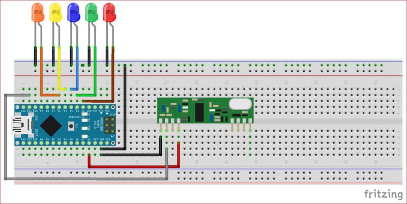 RF Communication between Arduino using RF Modules | IoT
