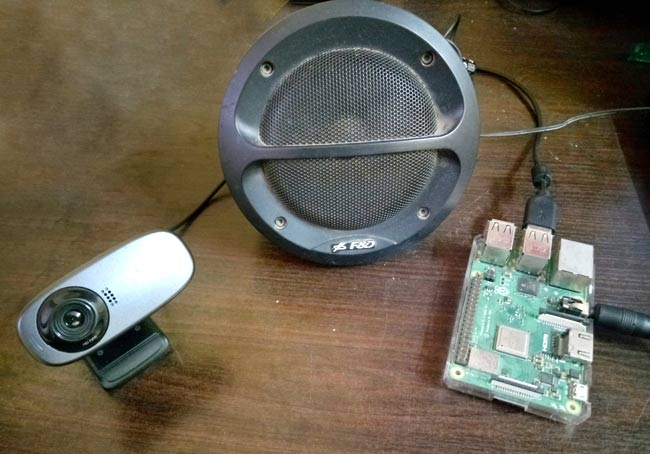 Circuit Hardware for IBM Watson Chatbot using Raspberry Pi and TJBot