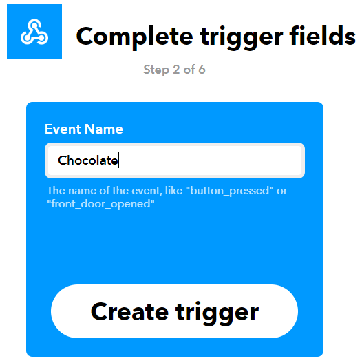 IFTTT Trigger Setup For IoT Inventory Management System