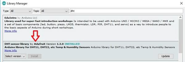 Sending DHT11 Sensor data to IBM Watson IoT cloud using ESP32