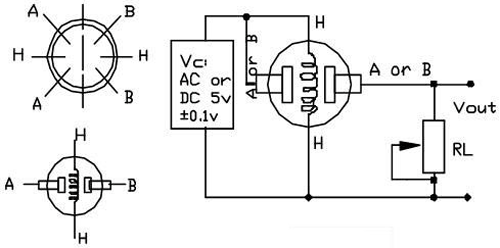 MQ4 Gas Sensor Internal Circuit
