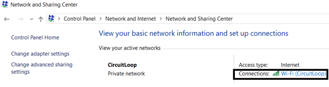 Open Network and Sharing in Laptop