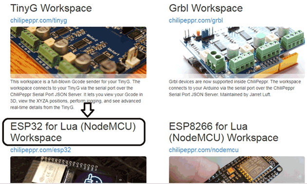 Getting started with Lua Language on ESP32: Program ESP32 using