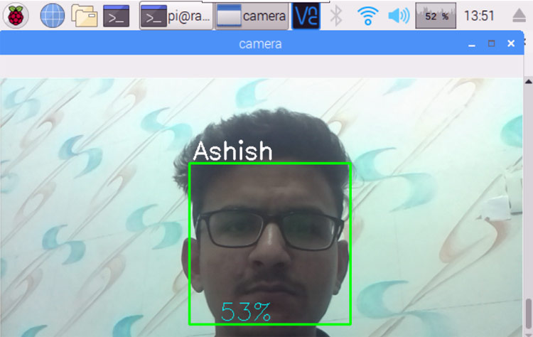 Raspberry Pi Face Recognition