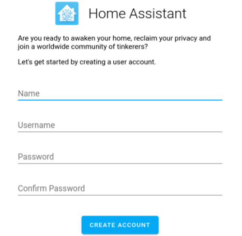 Setting up Home Assistant on the Raspberry Pi
