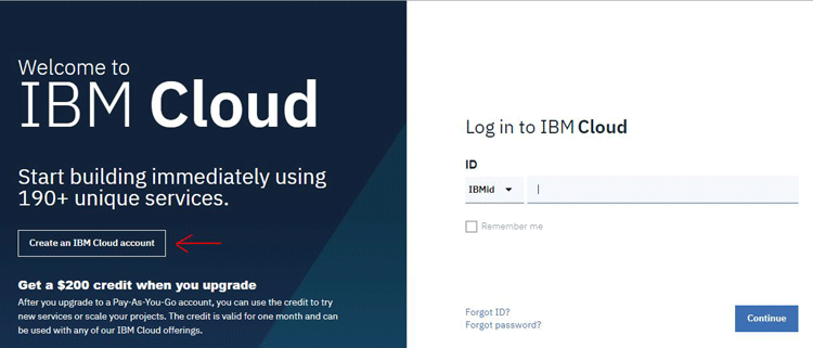 Setup Account for IBM Watson IoT Platform
