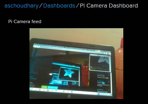 Streaming Live Video on Internet using Adafruit and Pi