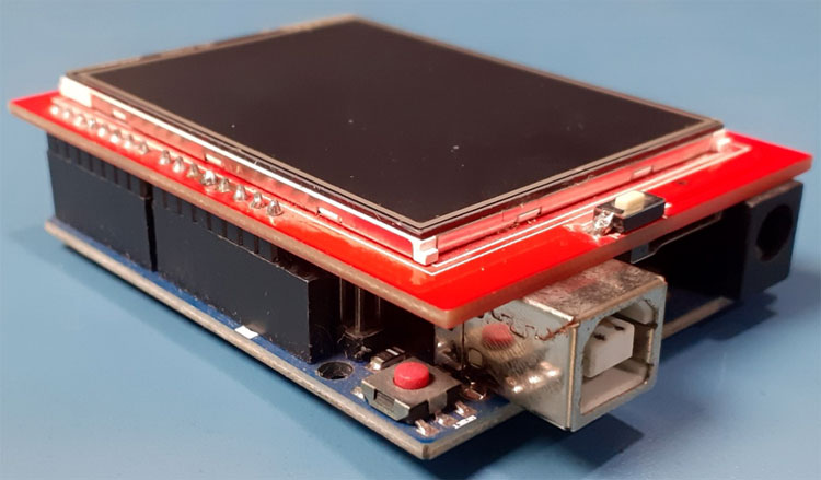 TFT LCD Connections with Arduino