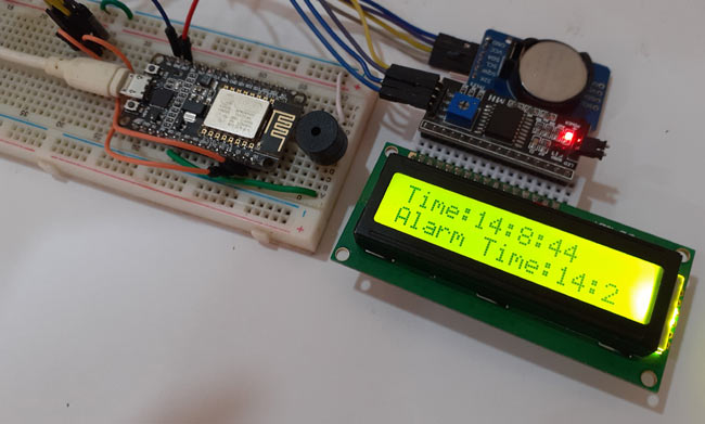 Testing IoT Alarm Clock Using NodeMCU based Captive Portal