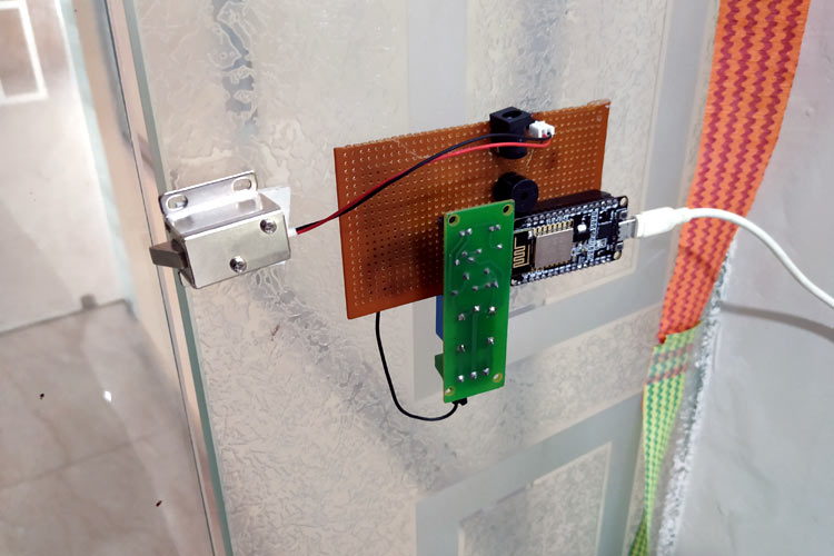 Wi-Fi Door Lock Setup