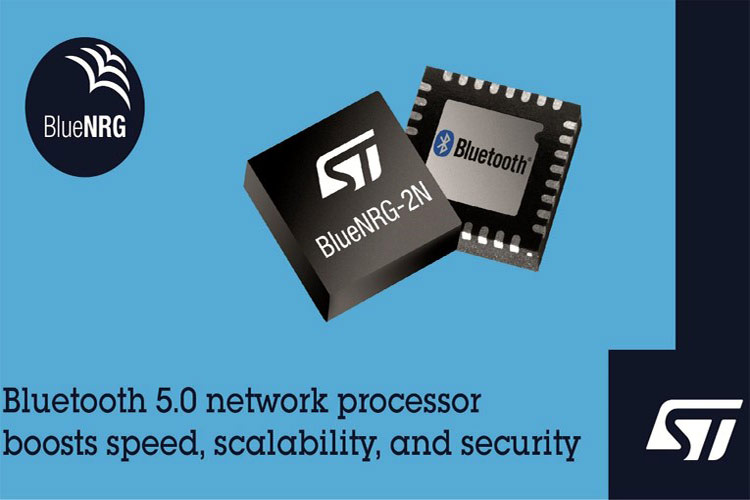 BlueNRG-2N Bluetooth 5.0 Network Processor