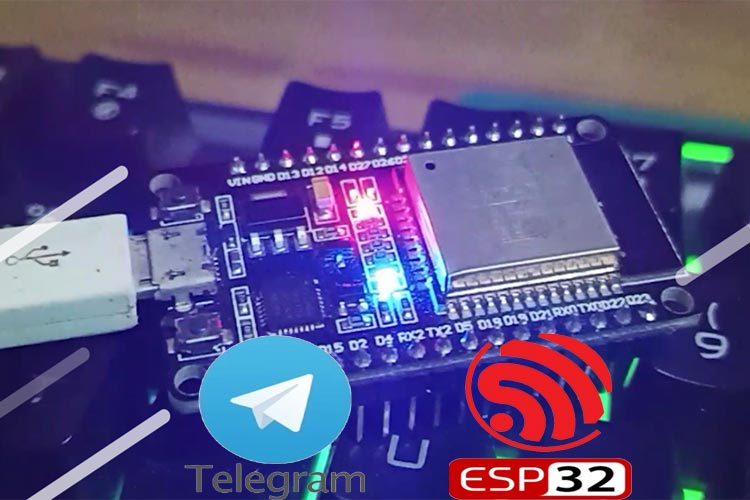 ESP32 Based Telegram Bot