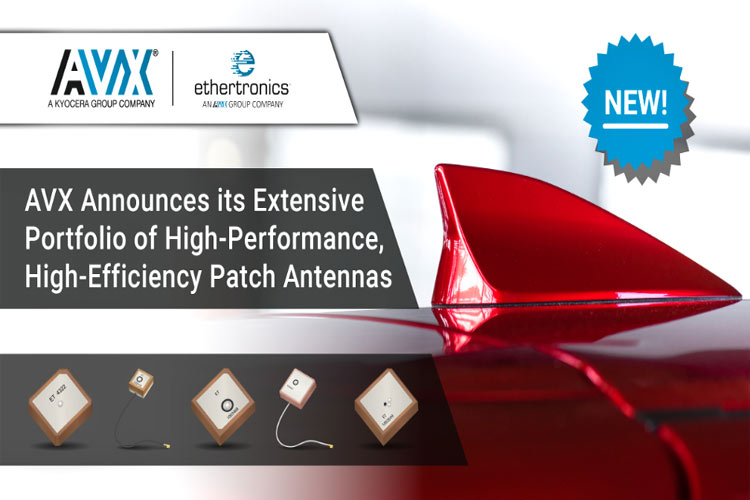 Ethertronics Patch Antenna from AVX Corporation