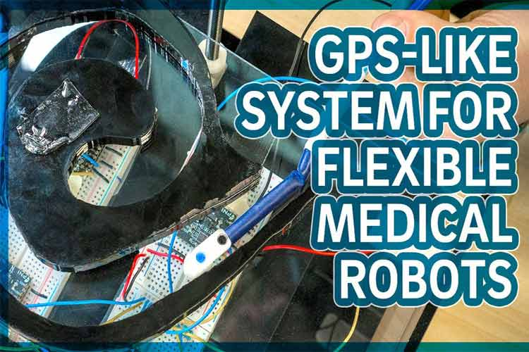 Flexible Medical Robots Tracking System