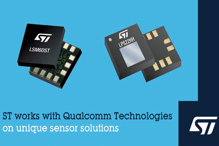 LSM6DST Inertial Measurement Unit from STMicroelectronics