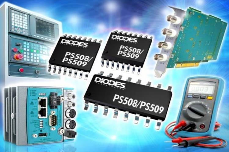PS508 and PS509 Analog Multiplexers