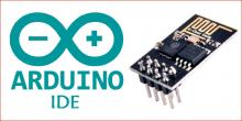 How to Flash ESP8266 for using AT commands with Arduino IDE