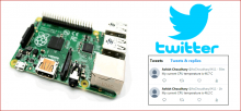 Raspberry Pi based Twitter Bot using Python