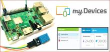 Temperature and Humidity Monitoring using Cayenne and Raspberry Pi