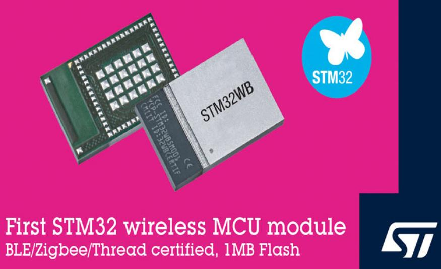 STM32WB5MMG Wireless Microcontroller