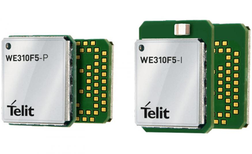 Telit's WE310F5 Single Band Wi-Fi and Bluetooth Low Energy Module