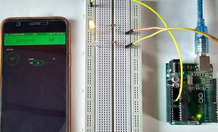 How to Control Arduino remotely over the Internet using Blynk App