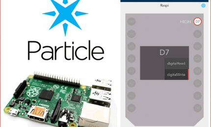 How to connect Raspberry with Particle Cloud for IoT Applications