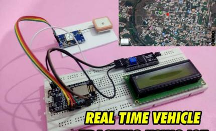 IOT based Vehicle Tracking System using NodeMCU
