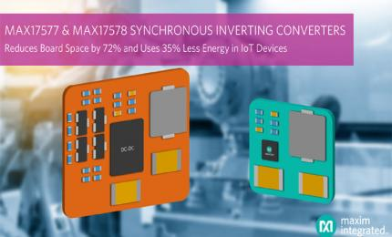 MAX17577 and MAX17578 Inverting DC-DC Converters