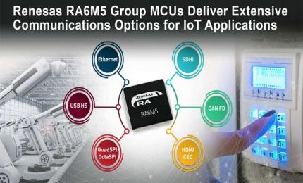 RA6M5 Group of MCUs