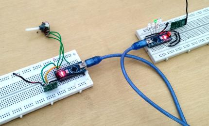 RF Communication using Arduino and RF Modules
