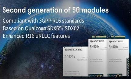 Quectel Second Generation 5G NR Modules