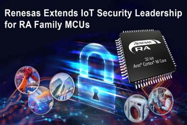 RA Family of 32-bit Arm Cortex-M Microcontrollers