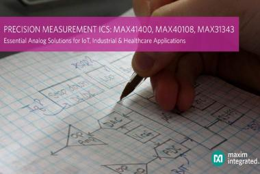 Maxim Integrated's New Essential Analog Precision Measurement ICs