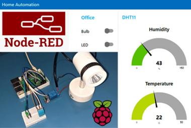 Home Automation with Node-RED and Raspberry Pi