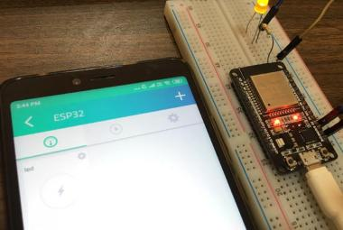 IoT Controlled LED using Cayenne and ESP32