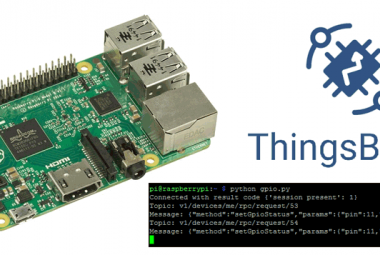 IoT Controlled LED using Thingsboard and Raspberry Pi
