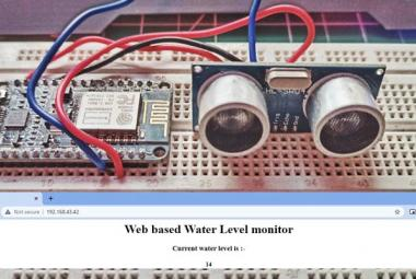 IoT Based Water Level Indicator Using Ultrasonic Sensor and NodeMCU