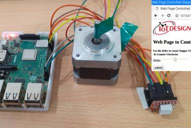 Nema 17 Stepper Motor Control using Raspberry Pi