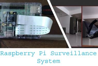 Smart CCTV Surveillance System using Raspberry Pi With MotionEyeOS