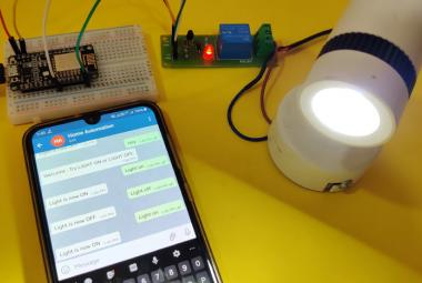 Telegram controlled Home Automation using NodeMCU ESP8266