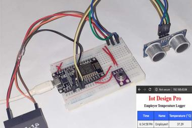 Touchless Attendance System using NodeMCU