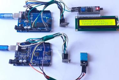 nRF24L01 Arduino UNO Wireless Communication