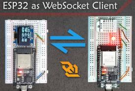 ESP32 Based WebSocket Client