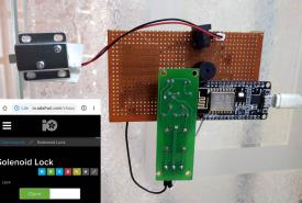 IoT based Smart Door Lock System using NodeMCU