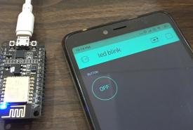 IoT Controlled LED using Blynk and ESP8266