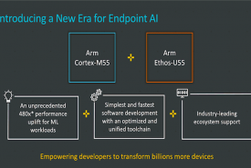 Arm Cortex-M55 processor and Arm Ethos-U55 NPU