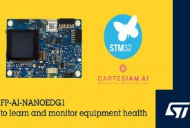 STMicroelectronics' FP-AI-NANOEDG1 Software Pack